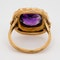 Amethyst and Pearl ring - image 4