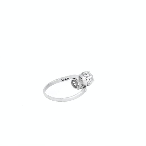 Platinum and Diamond Engagement Ring - image 3