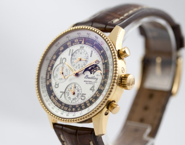 Breitling Montbrilliant Olympus Limited Edition, 18K Pink Gold, 42mm - image 8