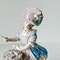 Meissen figure of card player - image 2