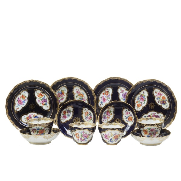 19th century Meissen cups and saucers - image 7