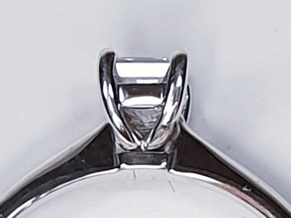 Single Stone Emerald Cut Diamond Ring 3764  DBGEMS - image 3