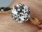 1.35ct old European transitional cut diamond engagement ring  DBGEMS - image 2