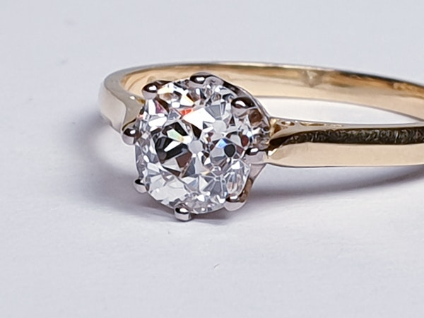 1.20ct Cushion Cut Diamond Engagement Ring  DBGEMS - image 2