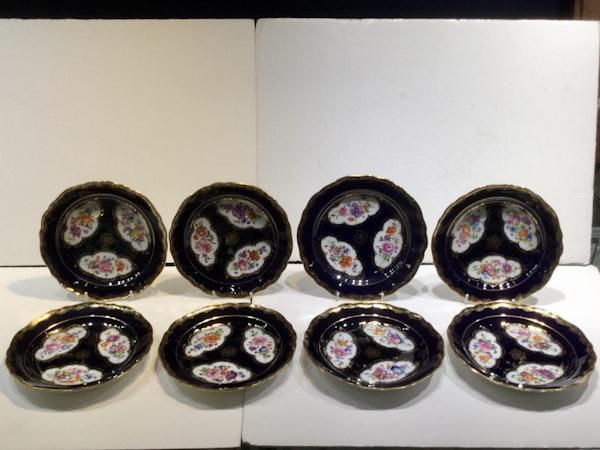 19th century Meissen plates - image 4