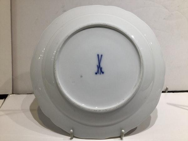 19th century Meissen plates - image 5