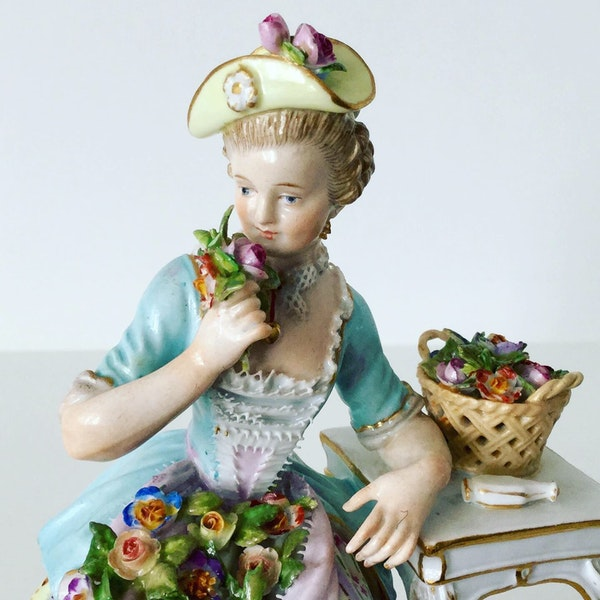 """Meissen figure of """"smell"""" - image 2"""