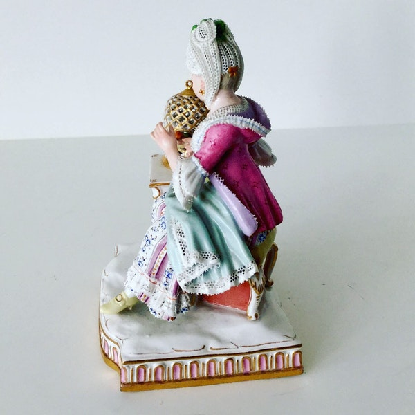 Meissen figure of touch - image 4