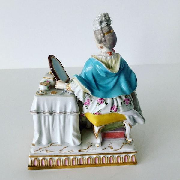 "Meissen figure of ""sight"" - image 4"