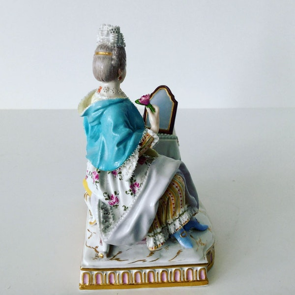 "Meissen figure of ""sight"" - image 2"