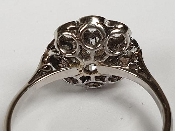 Art Deco Diamond Cluster Ring  DBGEMS - image 5