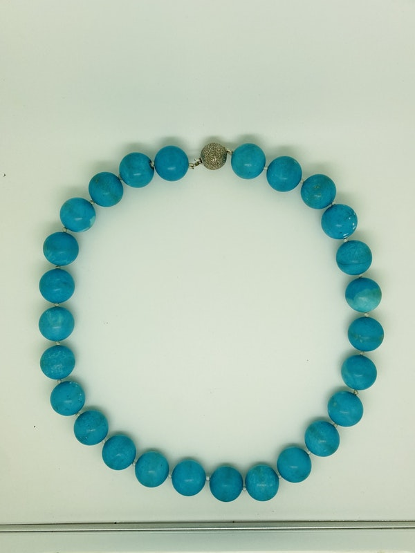 Natural Turquoise Necklace - image 2