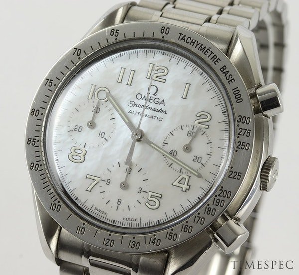 Omega Speedmaster Chronograph Ladies Mother Of Pearl Dial 39mm - image 4