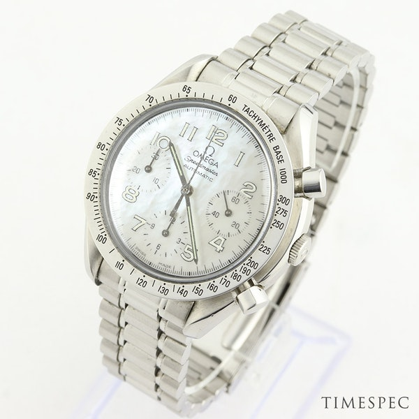 Omega Speedmaster Chronograph Ladies Mother Of Pearl Dial 39mm - image 2