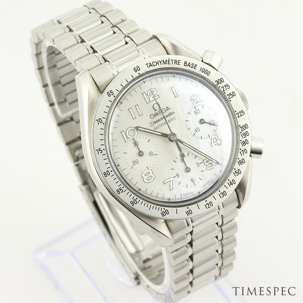 Omega Speedmaster Chronograph Ladies Mother Of Pearl Dial 39mm - image 3