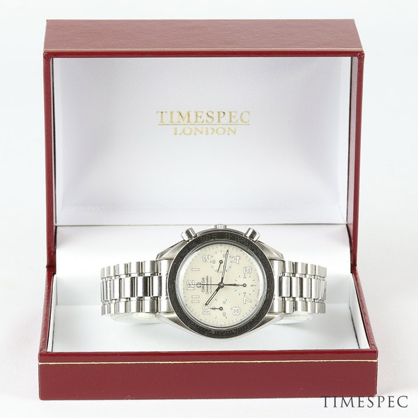 Omega Speedmaster Chronograph Ladies Mother Of Pearl Dial 39mm - image 7