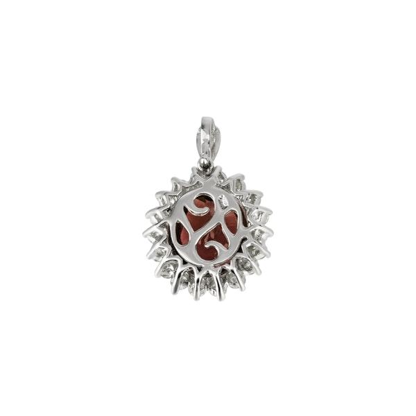 Garnet pendant - image 2