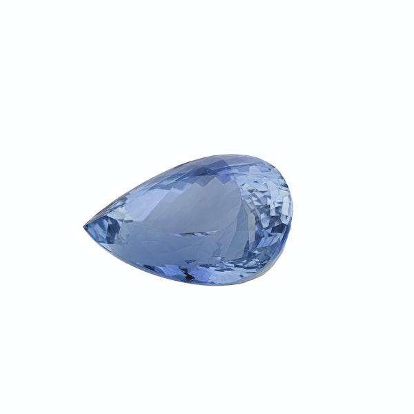 Fine aquamarine gemstone - image 2