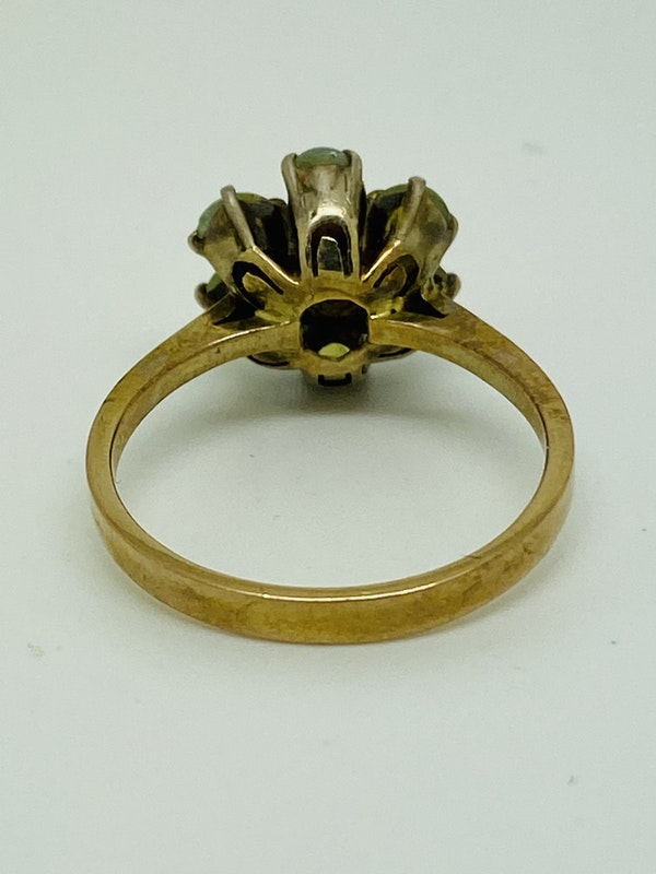 18K yellow gold Chrysoberyl Ring - image 3