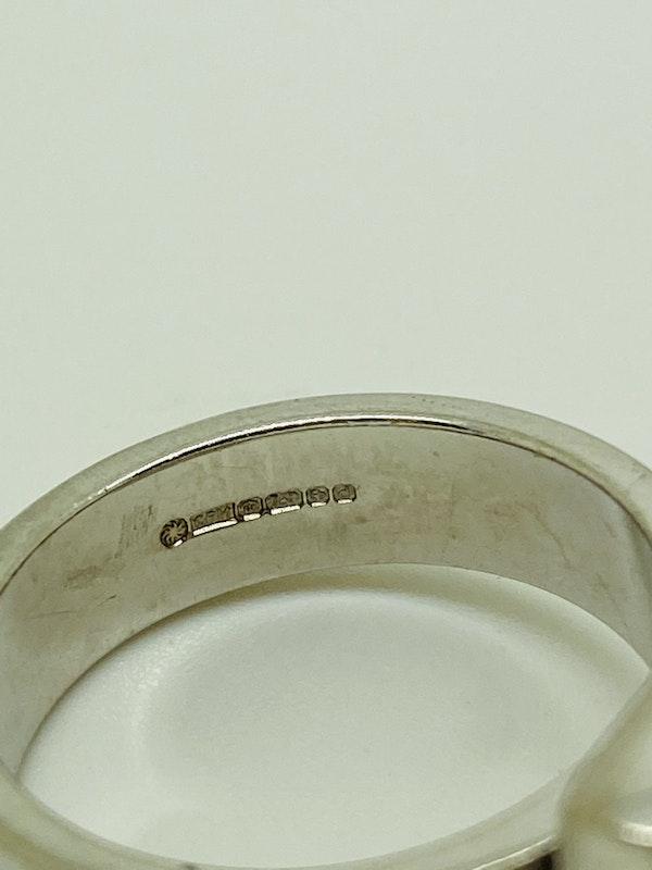 18K white gold 1.00ct Diamond Ring - image 2