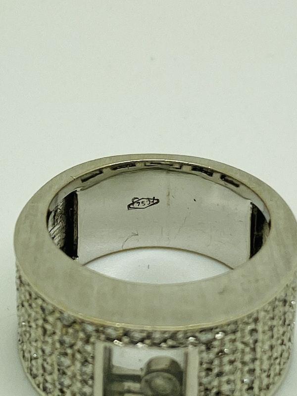 18K white gold 0.75ct Diamond Ring - image 3