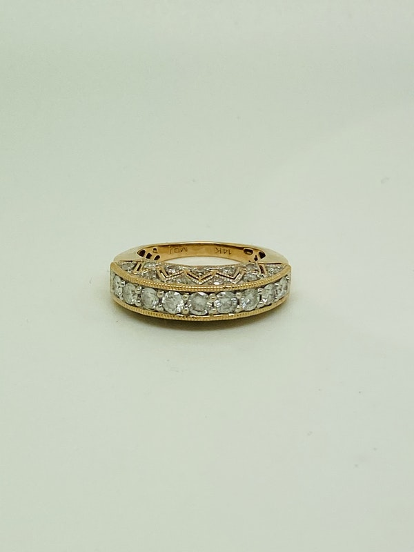 Half Eternity 1.50ct Diamonds Ring - image 2