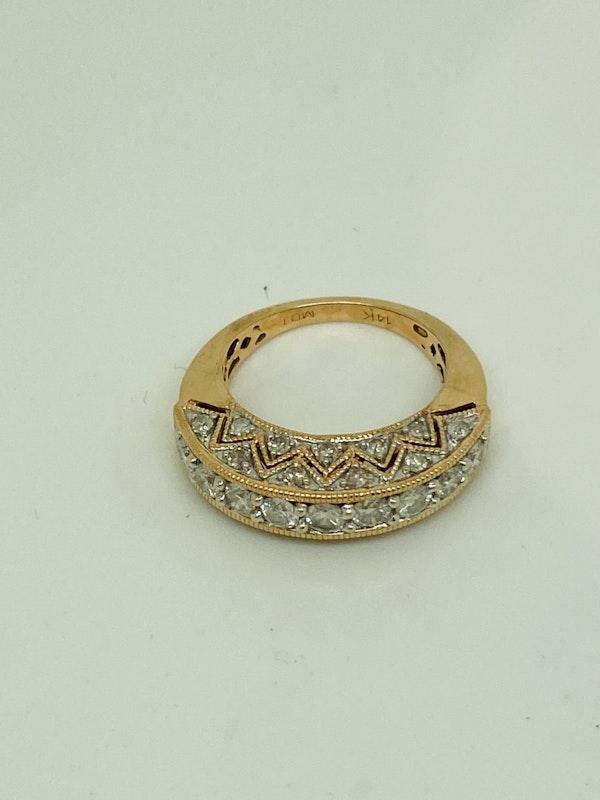 Half Eternity 1.50ct Diamonds Ring - image 3