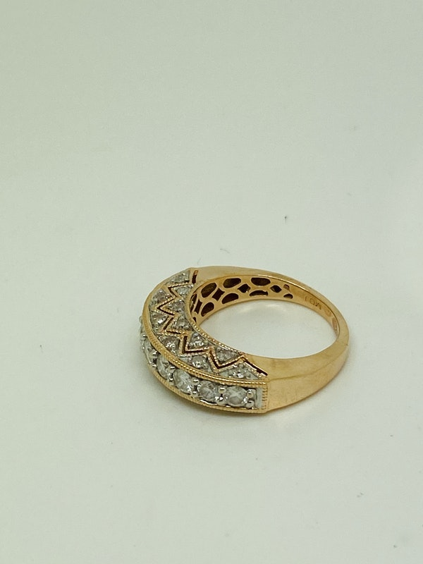 Half Eternity 1.50ct Diamonds Ring - image 4