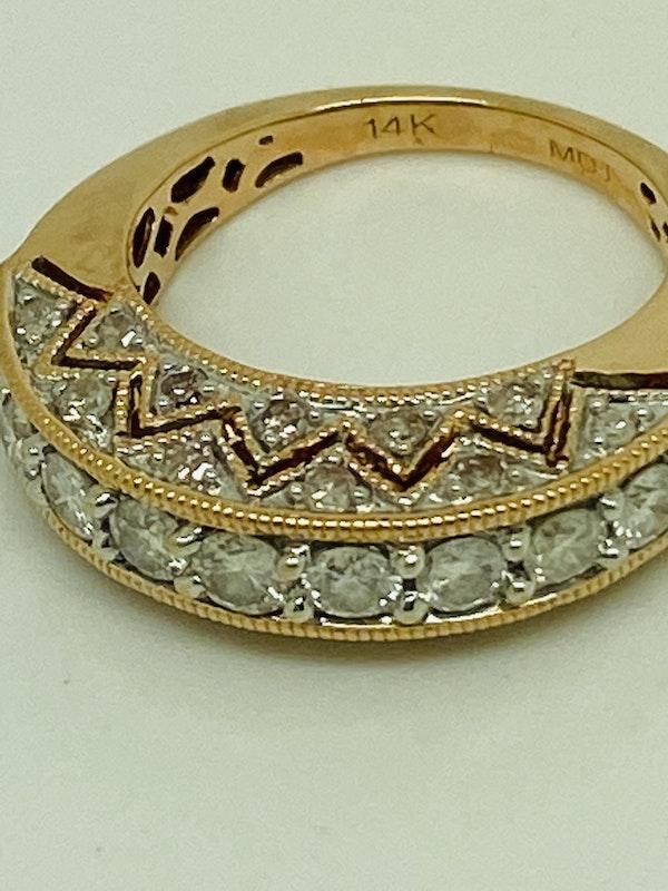 Half Eternity 1.50ct Diamonds Ring - image 1