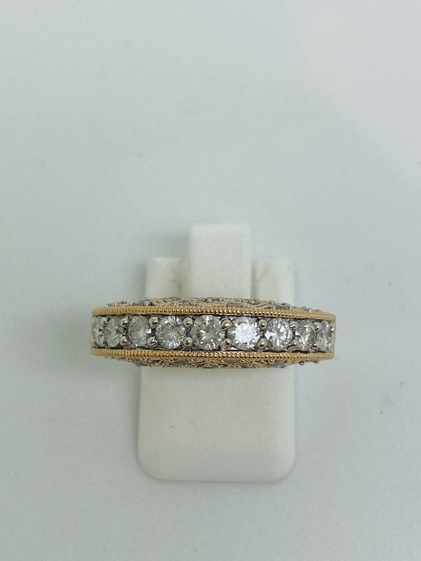 Half Eternity 1.50ct Diamonds Ring - image 7