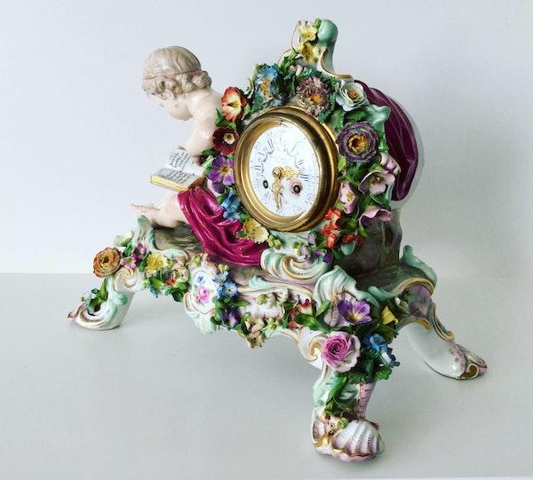 Meissen clock - image 3