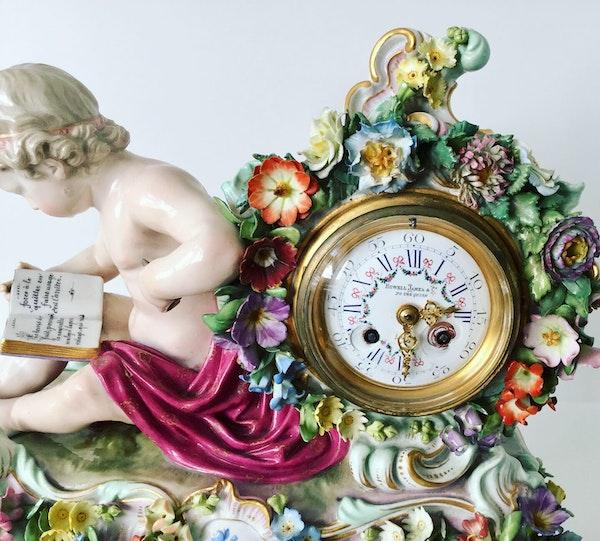Meissen clock - image 4