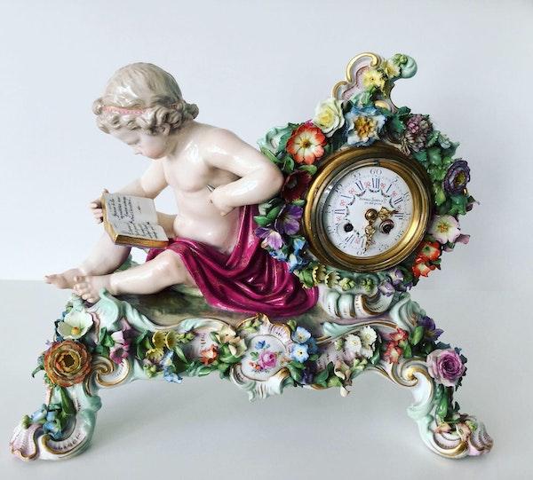 Meissen clock - image 2