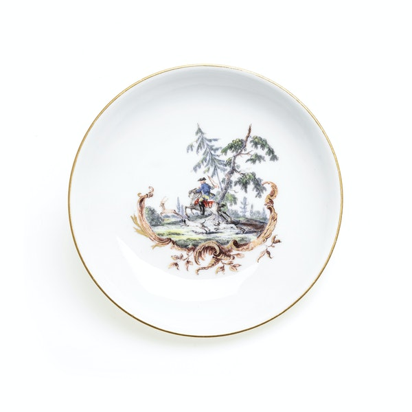 18th century Meissen cups and saucers - image 8