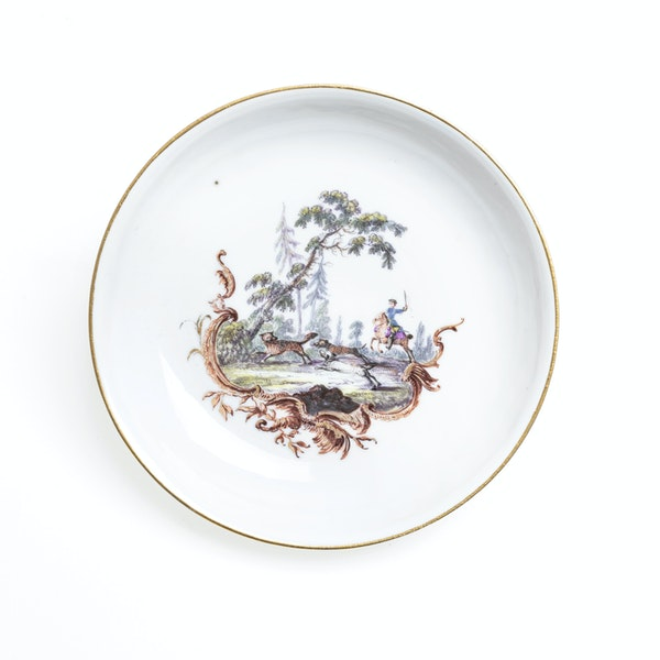 18th century Meissen cups and saucers - image 5