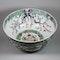Large Chinese famille verte bowl - image 4