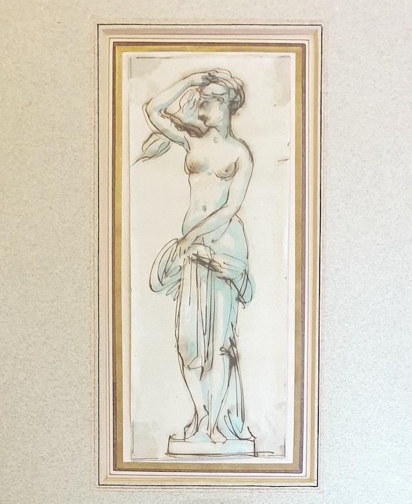 Antonio Zucchi Pen & Ink Study - image 1