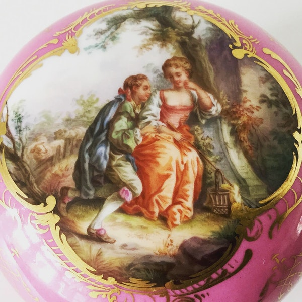 Meissen box and cover - image 1