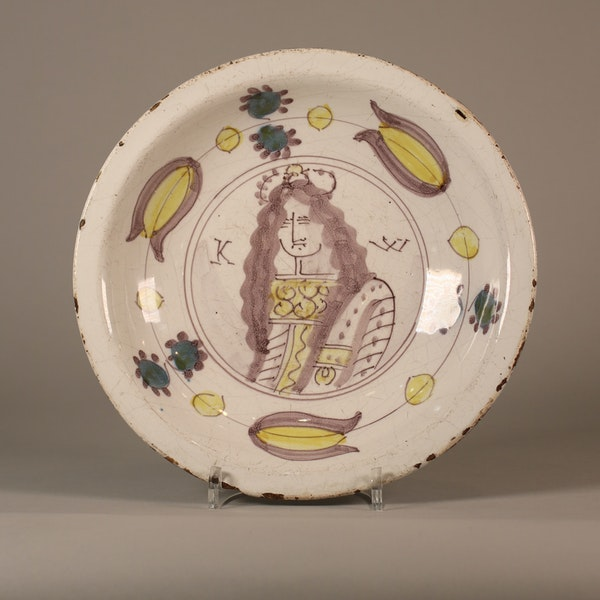 Dutch Delft faience dish - image 2