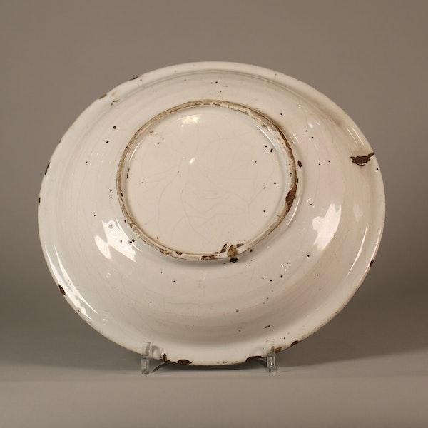 Dutch Delft faience dish - image 4