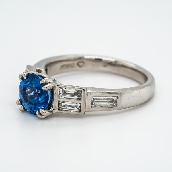 A Sapphire and Diamond Ring Offered by The Gilded Lily - image 3