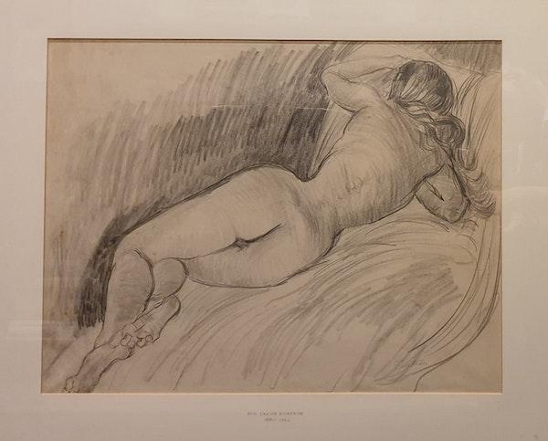 Sir Jacob Epstein Nude Study - image 2