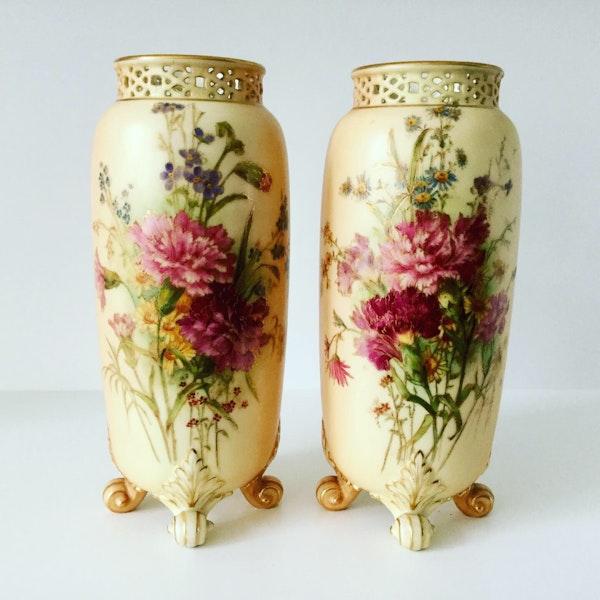 Pair of Royal Worcester vases - image 1