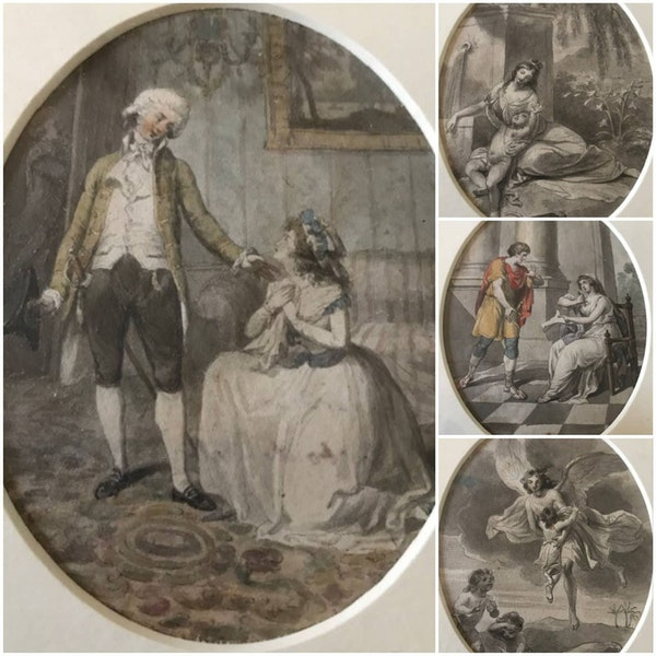 Robert Smirke RA 18th.Century Watercolour Illustrations - image 1