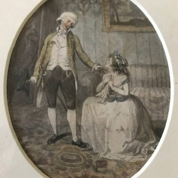 Robert Smirke RA 18th.Century Watercolour Illustrations - image 4