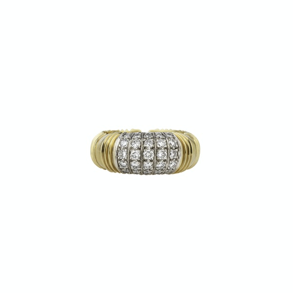 Boodles Gold and Diamond Bangle and Ring - image 2