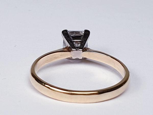 Princess Diamond Single Stone Engagement Ring  DBGEMS - image 5