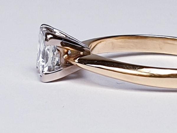 Princess Diamond Single Stone Engagement Ring  DBGEMS - image 2