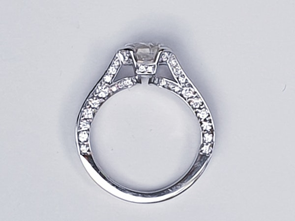 1.52ct old cut diamond engagement ring  DBGEMS - image 5