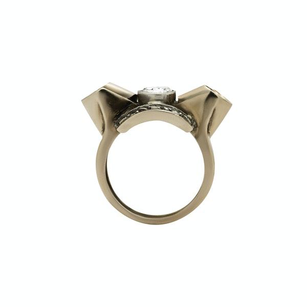 Retro Bow Ring - image 2